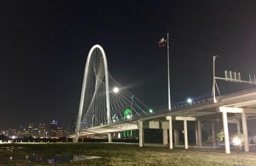 The lovely Hunt Bridge